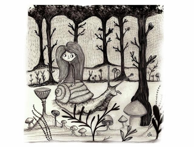 ilustración lelelerele, lluvia, ilustration