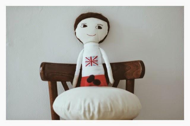 muñeco personalizado, mini yo, muñeco de tela hecho a mano